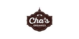 Cha's Organic logo