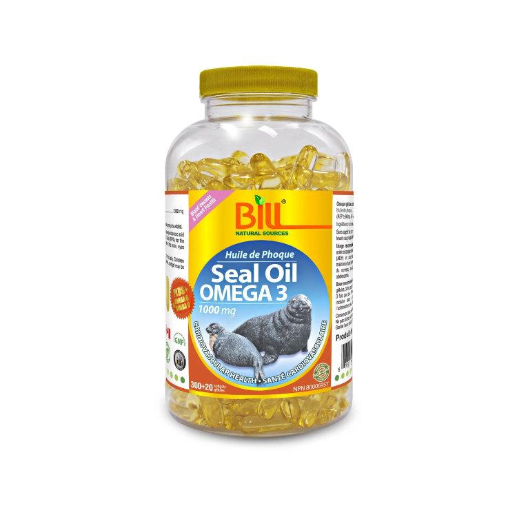 加拿大Bill康加美北极海豹油1000毫克320粒装