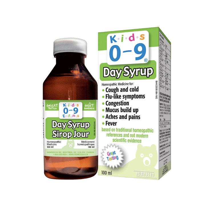 加拿大Kids0~9顺势疗法感冒糖浆 100%纯天然 儿童日用