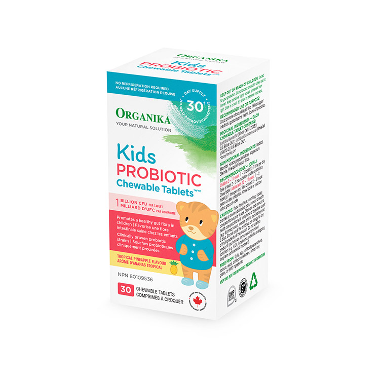 Organika, Kids Probiotic, 30 Chewable Tablets