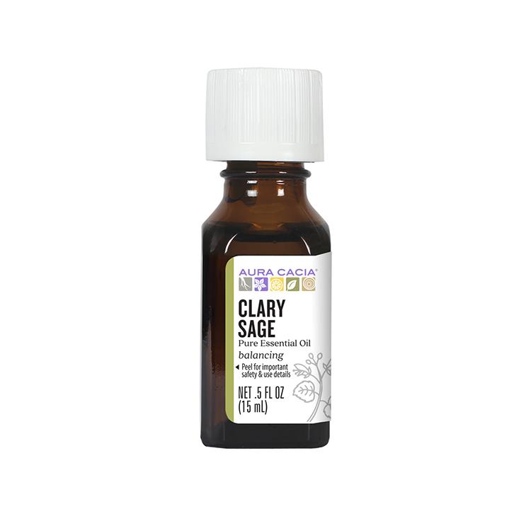 Aura Cacia, Pure Essential Oil, Clary Sage, 15ml