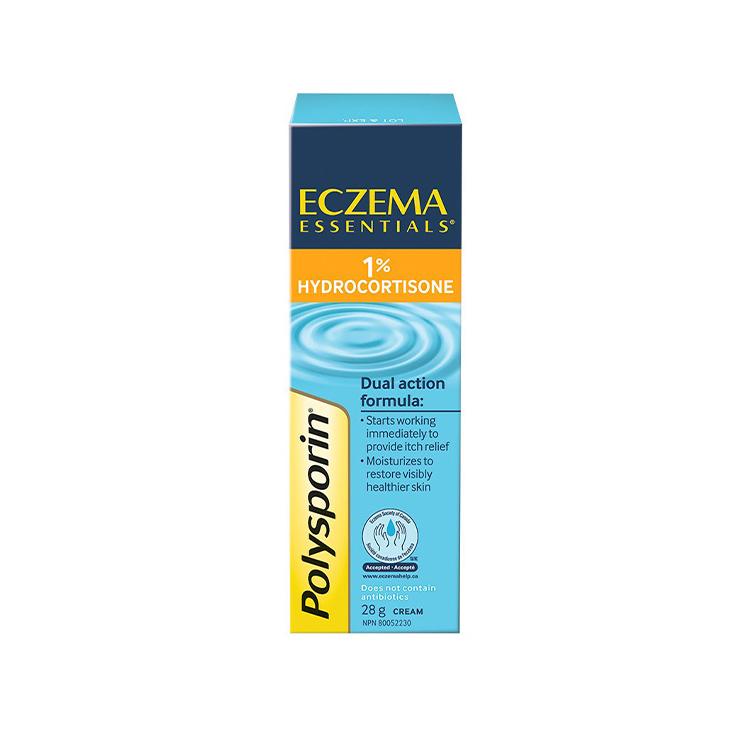 Polysporin, Eczema Essentials 1% Hydrocortisone Cream, 28g