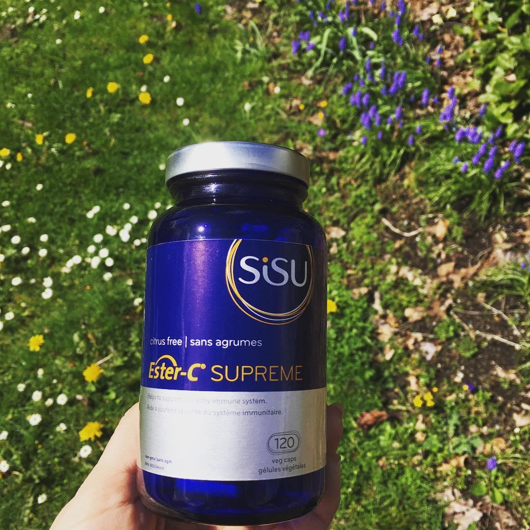 加拿大SISU酯化维生素C 超级版 提供长达24小时免疫支持 特别适合流感季