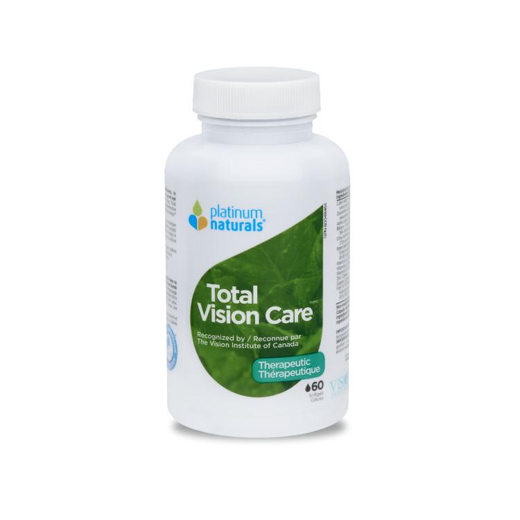 加拿大Platinum Naturals全效护眼胶囊 加拿大视力研究学院认证产品 叶黄素加强复合配方